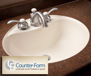 Counter-Form Custom Countertops and Undermount Sinks