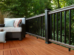 Composite, Vinyl, PVC Decking & Railing, Deck Lighting, Under-Deck Drainage, Accessories