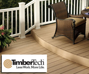 TimberTech Composite Decking, Railing & Fencing Materials